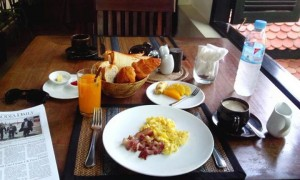 Bunwin Hotel Breakfast