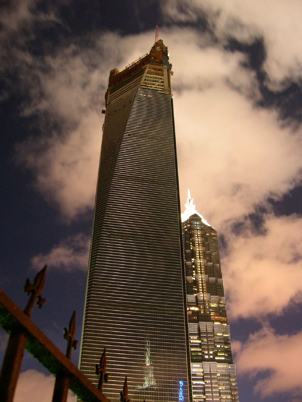Third tallest building in the world in Shanghai.
