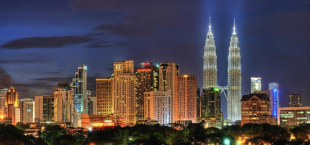Petronas Towers in the Skyline