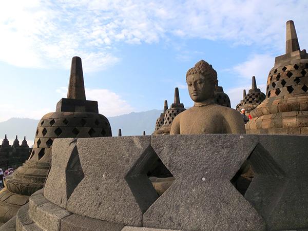 Yogyakarta Borobudur Buddha