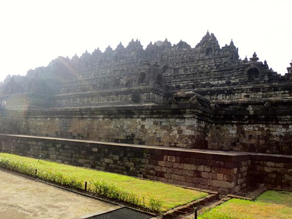 Yogyakarta Borobudur Side Look