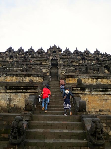 Yogyakarta Borobudur Steps