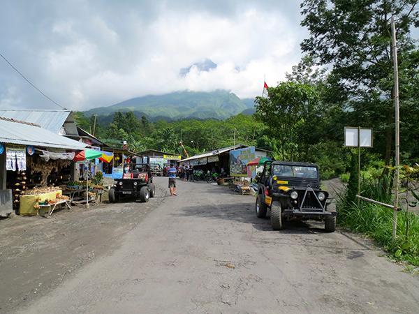 Yogyakarta Volcano Merapi Street