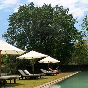 Pool at the Hotel Temple Tree in Langkawi Malaysia