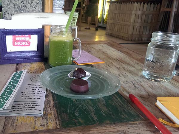 Juicing in Ubud