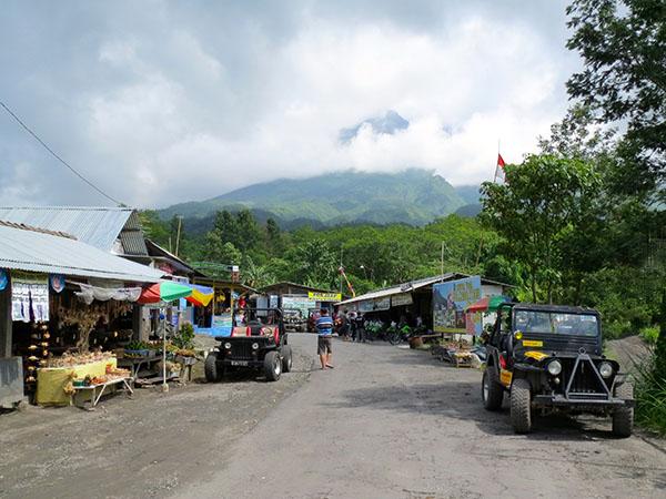 Base of Mount Merapi, Yogyakarta