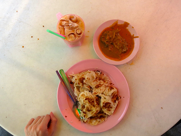 Little India Roti canai - Penang