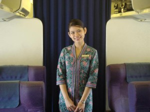 Malaysian Airlines Crew Member