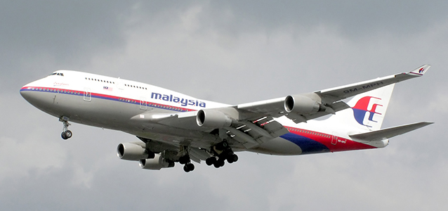 Malaysian Airlines Plane