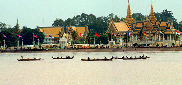 Riverside, Phnom Penh, Cambodia